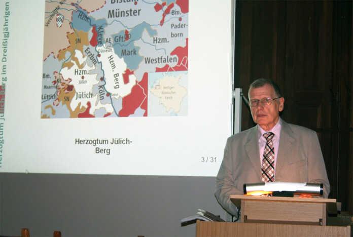 Hans Jüchtern über den Dreißigjährige Krieg in der Region