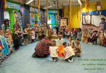 Kindertagesstätte Unkelbach feiert im Wilden Westen die 5. Jahreszeit
