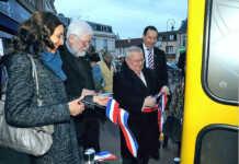 Deutsch-französischer Bücherschrank in Maisons-Laffitte eingeweiht