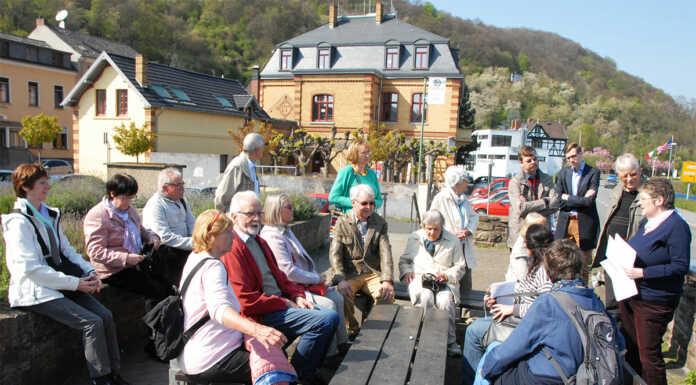 Denkmalverein Sinzig zu Gast beim Ratshausverein Oberwinter
