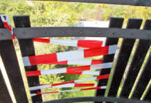 Vandalismus auf dem Sinziger Feltentum
