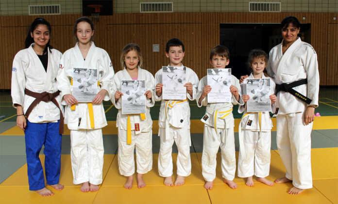 Guter Jahresbeginn für die Judokas vom Turnverein Bad Breisig