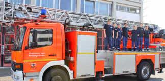 Jugendfeuerwehr Oberwinter zu Gast bei der Berufsfeuerwehr Bonn