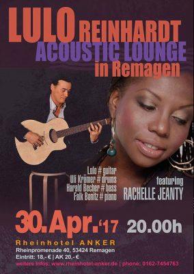 Lulo Reinhardt Acoustic Lounge @ Rheinhotel Anker | Remagen | Rheinland-Pfalz | Deutschland