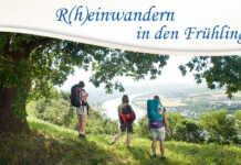 R(h)einwandern in den Frühling - Wanderwochenende am 29.4.-30.4.