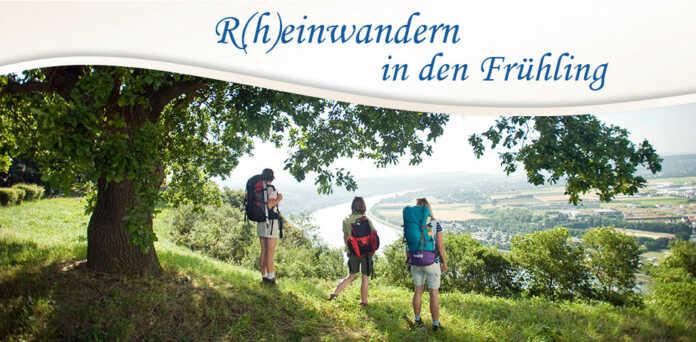 Rheinwandern in den Frühling 2017