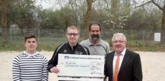 Volksbank Koblenz Mittelrhein spendet für Sport