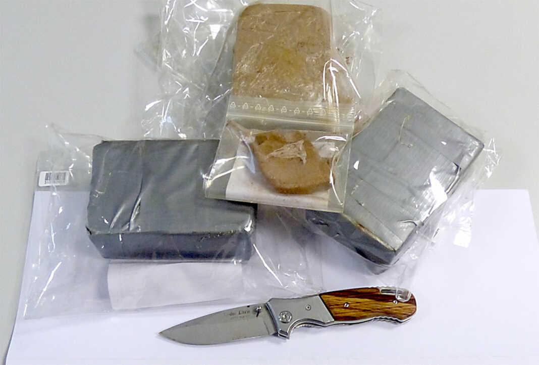 1,5 Kilogramm Heroin sichergestellt