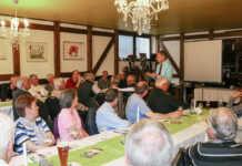 Reges Interesse beim Informationsabend von Bürgermeisterkandidat Andreas Geron in Bad Bodendorf