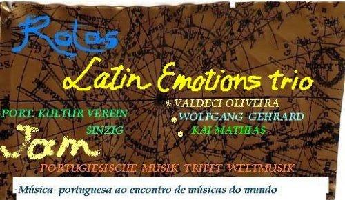 Latin Emotions Trio @ Portugiesischer Kulturverein | Sinzig | Rheinland-Pfalz | Deutschland