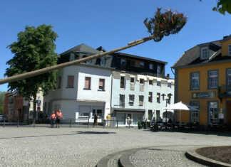 St. Josef Gesellschaft - Sinziger Maibaum gefällt
