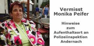 Monika Peifer vermisst