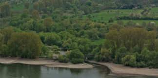 Panorama von Sinzig bis Remagen