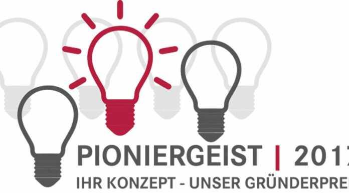 Mit Pioniergeist und Geschäftsideen punkten - Pioniergeist 2017