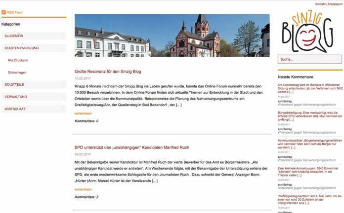 Sinzig Blog