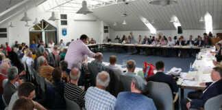 Stadtratssitzung Hauptthema NVZ