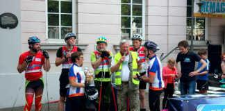 Tour de Jumelage - 456 km strampeln für die Städtepartnerschaft