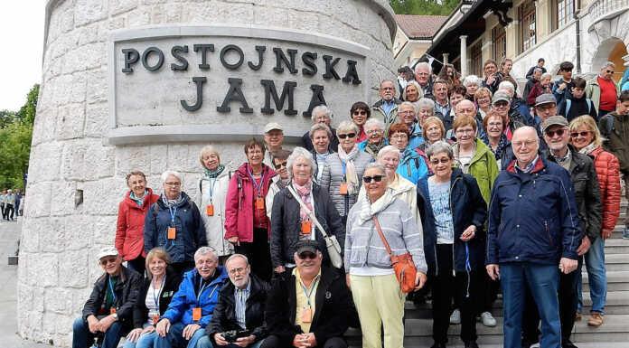Studienfahrt der VHS Remagen auf den Balkan - Slowenien, Kroatien, Istrien