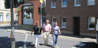 Fußgängerampel Koblenzer Straße wieder aktiv
