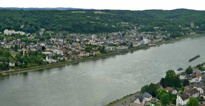 Panorama Remagen bis Brohl