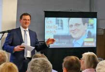 CDU Bürgermeisterkandidat Martin Braun harten Vorwürfen ausgesetzt