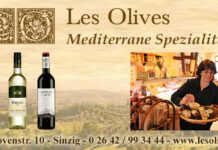 Les Olives Angebote im Juli