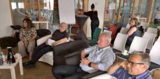 Manfred Ruch unterstützt Visionen für die Alte Druckerei
