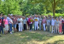 Ehrenamtliche Mitarbeiter der Ausgabestellen Ahrweiler und Sinzig feierten