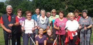 Nordic-Walking-Abzeichen für Sportler des Turnvereins