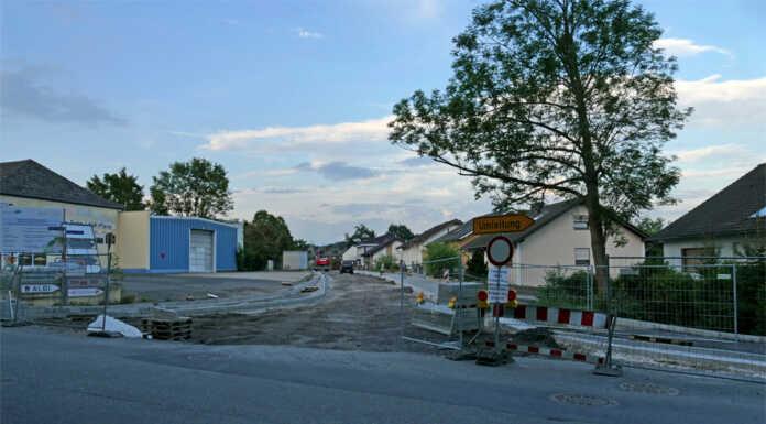 Tiefbauarbeiten Kripper Straße in Sinzig verlaufen planmäßig