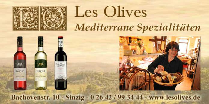 Neu bei Les Olives - offene Verkostung