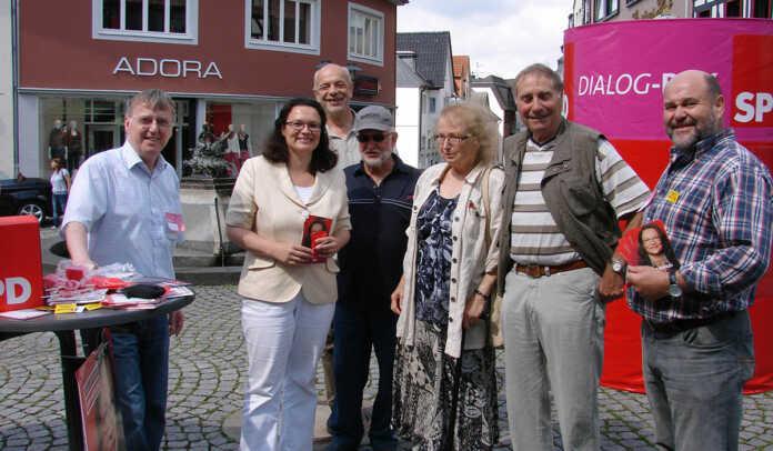 Andrea Nahles kommt zum Sommerfest der SPD nach Bad Bodendorf