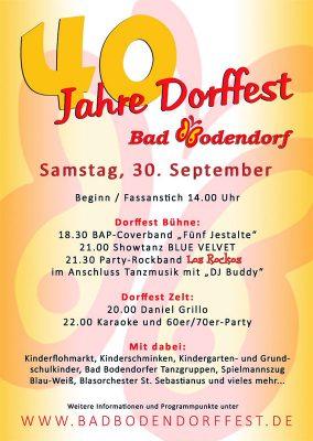 40. Dorffest @ Bad Bodendorf | Sinzig | Rheinland-Pfalz | Deutschland