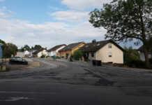 Kripper Straße wieder befahrbar