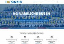 Die neue Webseite der Närrischen Buben ist ab sofort online