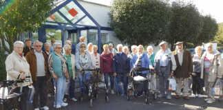 Senioren besuchen den Sinziger Mineralbrunnen