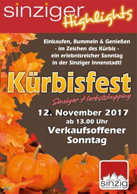 Kürbisfest 2017 @ Sinzig Innenstadt | Sinzig | Rheinland-Pfalz | Deutschland