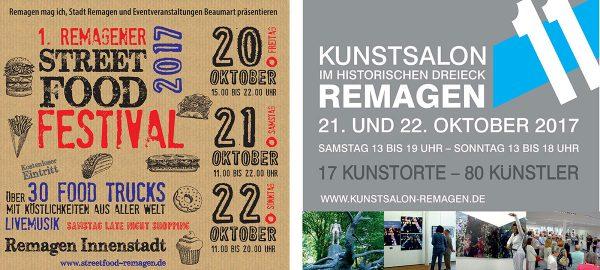 Street Food Festival + Kunst + Shopping @ Remagen Innenstadt | Remagen | Rheinland-Pfalz | Deutschland