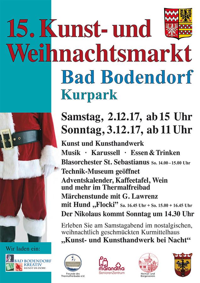 15. Kunst- und Weihnachtsmarkt in Bad Bodendorf