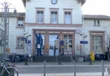 Reinigungsarbeiten im Bereich des Bahnhofes Remagen
