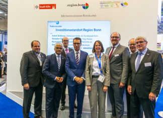 AW bei der Expo Real: Gemeinsam für Investoren geworben