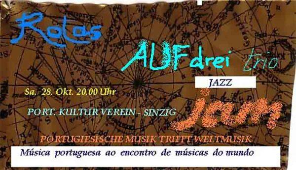 Herbst in Jazz - AUFdrei Trio @ Portugiesischer Kulturverein   Sinzig   Rheinland-Pfalz   Deutschland