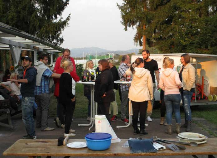 Sommerfest der Närrischen Buben am Freiwegheim