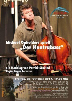 Michael Ophelders spielt Der Kontrabass @ Gewölbe im Zehnthof | Sinzig | Rheinland-Pfalz | Deutschland