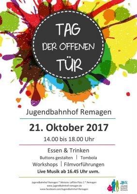 Tag der offenen Tür im Jugendbahnhof Remagen @ Jugendbahnhof Remagen | Remagen | Rheinland-Pfalz | Deutschland