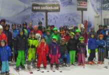 TV-Skijugend auf dem Neusser Gletscher