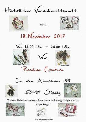Herbstlicher Vorweihnachtsmarkt @ Sinzig   Sinzig   Rheinland-Pfalz   Deutschland