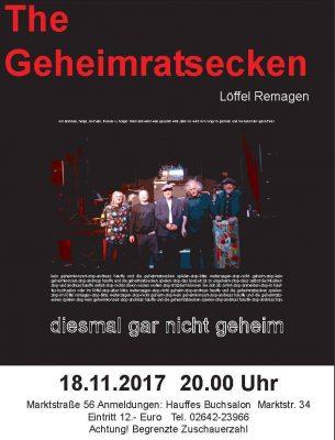 Die Geheimratsecken @ Löffel | Remagen | Rheinland-Pfalz | Deutschland