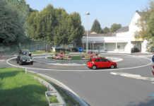 Kreisverkehr Koblenzer Straße Lindenstraße B9 in Sinzig