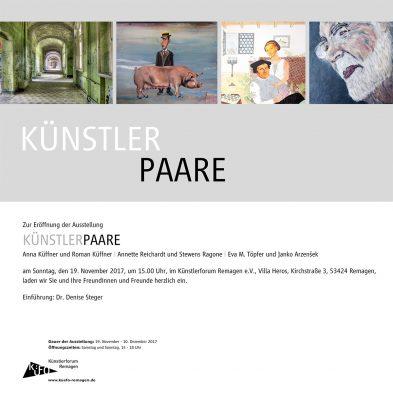 Drei KÜNSTLER-PAARE in der Villa Heros @ Künstlerforum Remagen | Remagen | Rheinland-Pfalz | Deutschland